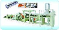 PP/PE/PVC/PS/ABS片材生产线