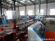 PVC/PE/尼龙单壁波纹管挤出生产线