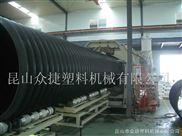 大口徑鋼帶增強波紋管擠出生產線