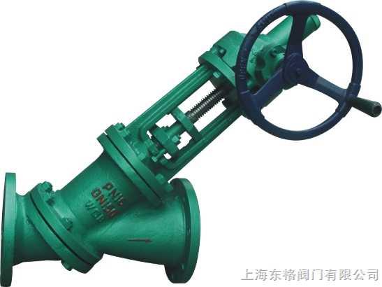 伞齿轮y型料浆阀,手动y型料浆阀,电动y型料浆阀图片