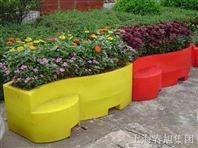 户外园艺滚塑花盆