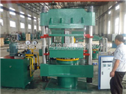 315T柱式平板硫化机_PC块文本控制硫化机