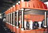 XLB-Q1400*5700*1平板硫化机全套生产线大型输送带硫化机